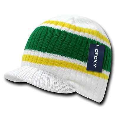 Decky GI Light Weight Beanies Striped Solid Caps Hats Visor Winter 11