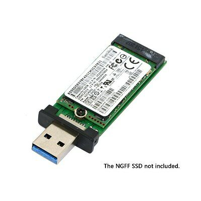 NGFF M2 SSD to USB 3.0 External PCBA Conveter Adapter Card Flash Disk 42mm 3