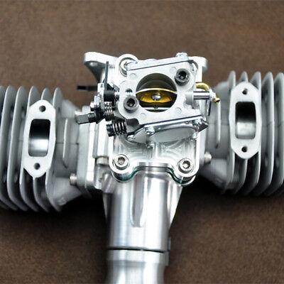 DLA116 116CC GAS Engine For RC Airplane Twin Igniton & Muffler Aviation