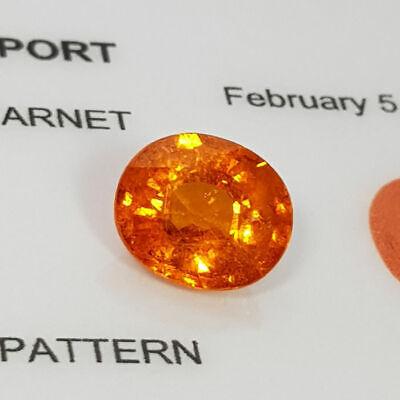Loose Gemstone - Spessartite Garnet 2.95 ct 2