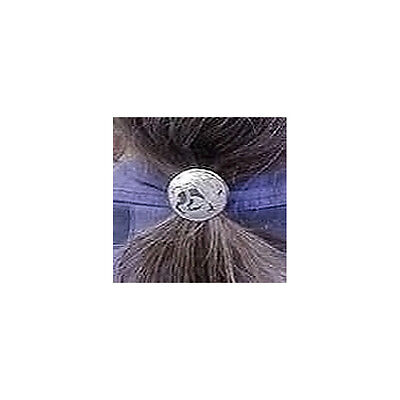 Celtic Hexagon Knot Nickel Silver Hair Tie NHT-5 5