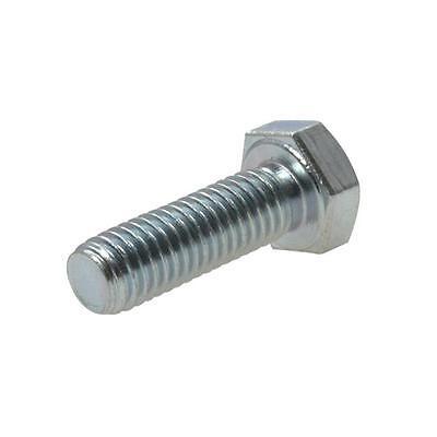 Hex Set Screw M5 (5mm) Metric Coarse Bolt High Tensile Class 8.8 Zinc Plated