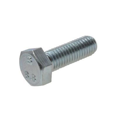 Hex Bolt M12 (12mm) Metric Coarse Set Screw High Tensile Class 8.8 Zinc Plated