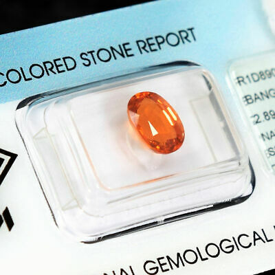 Loose Gemstone - Spessartite Garnet 2.89ct 6