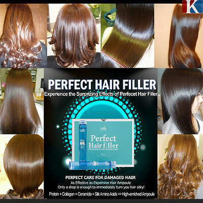 KOREA BEST HAIR CARE Perfect Hair Ampoules Filler / BEST OF BEST k-beautybox
