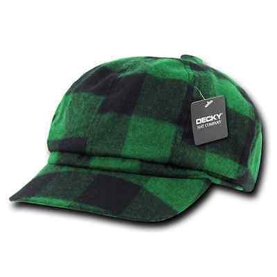1700693481f ... DECKY Newsboy Ivy Ivys Plaid Pre Curved Hats Hat Cap Drivers Cabbie  Golf Gatsby 3 •