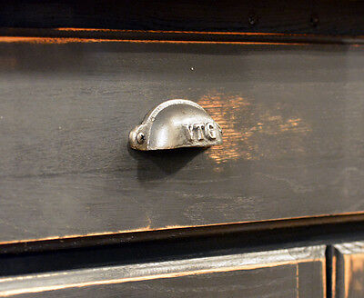 Cast Iron Cup Pull - 10-Pack - Industrial Style - Cabinet Pull - Best Quality 4