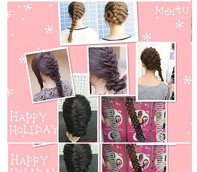 New Hair Styling clip bâton Bun Maker Braid Outil Accessoires cheveux 2