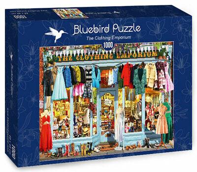 Schuhe Puzzle Das Bekleidungs-Geschäft Einkaufen 1000 Teile Bluebird