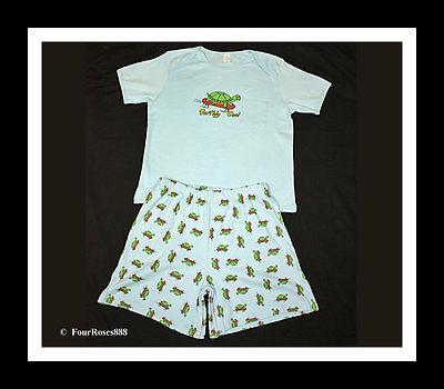 ... New Adult Baby Play Diaper Pajamas Short Set Chest 48