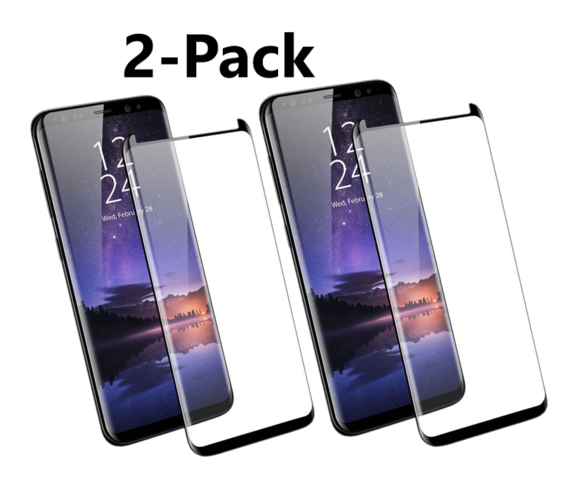 Case Friendly Tempered Glass Screen Protector Samsung Galaxy Note 9 S9 / S8 Plus 4