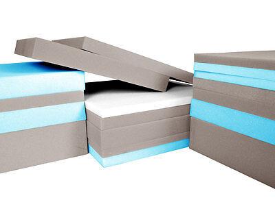 Schaumstoff Schaumstoffplatte Matratze Schaum Polster  RG14/18 RG25/44 RG35/43 2