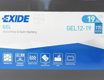 Batteria Exide Gel 12 19 Moto Bmw K 1200 1.2 R1150R / R Rs Rt 1150 / K 1300 R S 2