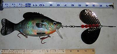 10 pack- Indiana Spinner Blades Size 14 Salmon Nickel  Muskie Pike