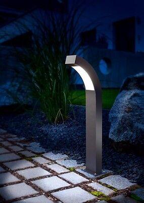 4 X Led Lampade Da Giardino Strada Luci Per Esterno Lampioni 230v