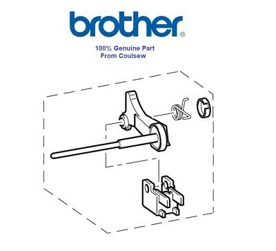 XF4744001 Brother Genuine SPOOL PIN For FS130,AS40,DS140,DS160,FS40,FS70