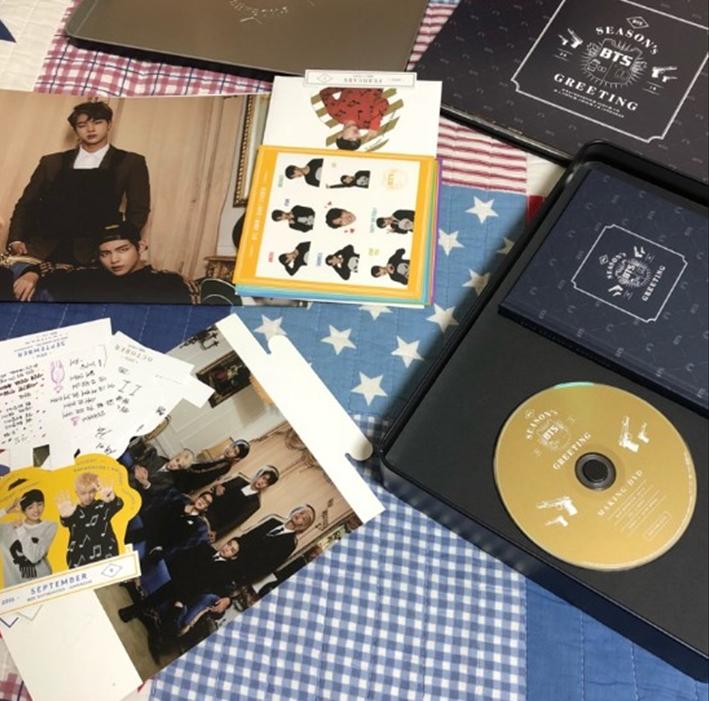 BTS Bangtan Boys 2016 Season/'s Greetings Official Goods Full Package Kit RARE