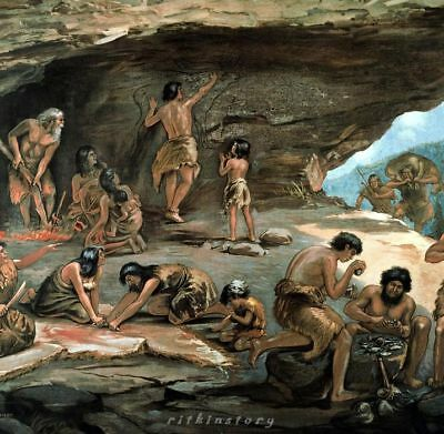 ⚱ Ancient Neanderthal • Paleolithic • Mousterian Stone Tools • Blades • Israel ⚱