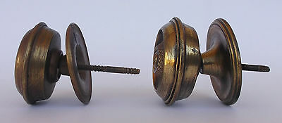 Vintage Pair Of Brass Handle/knobs 8