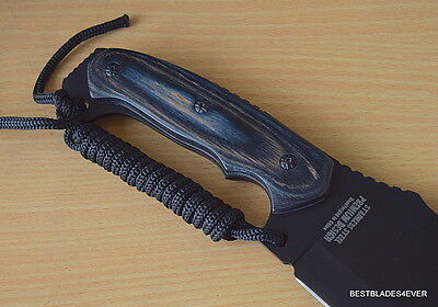 Jungle Master Machete Fixed Blade Hunting Knife Full Tang With Nylon Sheath 5