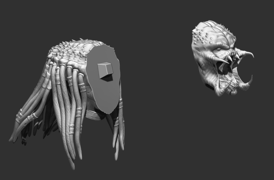Predator Bust - File Stl 3D printing created ZBrush Compatible with every Slicer 8