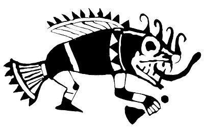 Pre-Columbian MOCHE FISH DEMON S/S VESSEL w/COA 11