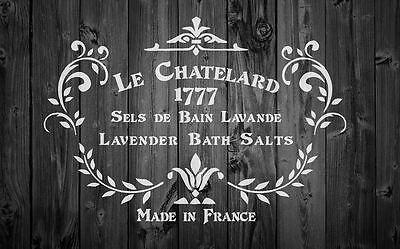 A3 Stencil Shabby Chic Set 1 French Vintage DIY 125//190 micron Mylar