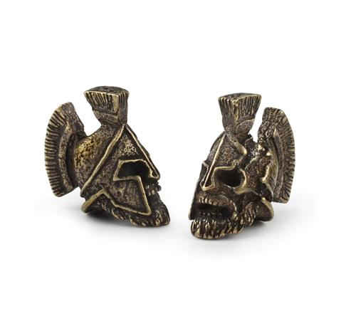 Death Reaper Bead Lanyard Talisman Bracelet Jewelry Paracord Beads Keychain EDC