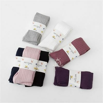 Toddler Infant Kids Baby Girls Cotton Warm Pantyhose Socks Stockings Tights 0-8Y 6