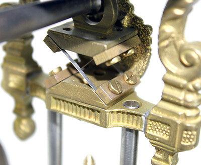 Beautiful Ansonia Cut 8 Day Movement Brass Fisher Lady Mystery Swinger Clock 6