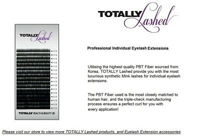TOTALLY LASHED - Individual Eyelash Extensions - Synthetic Mink - MIXED  LENGTH