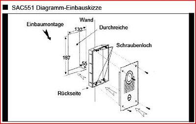 SONDERANGEBOT/110°WEITWINKEL/SONY KAMERA Video Türsprechanlage,4 ...