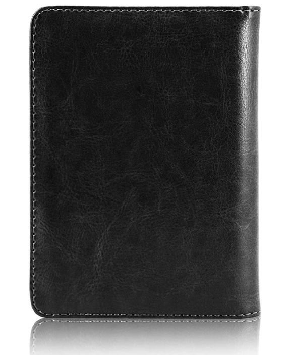 Slim Leather Travel Passport Wallet Holder RFID Blocking ID Card Case Cover US 11