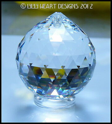 SWAROVSKI CRYSTAL 60mm BEST HANGING BALL Rainbow Maker Lilli Heart Designs 4