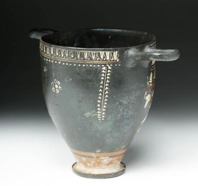 Greek Gnathian Polychrome Skyphos / Wine Cup Lot 27