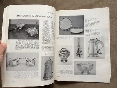 Rare ANTIQUES  Magazine from January 1960 Vol. LXXVII, No. 1 Collector's Guide 11