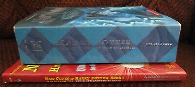 Harry Potter And The Order Of The Phoenix & New Clues To Harry Potter Book 5-Pb 3