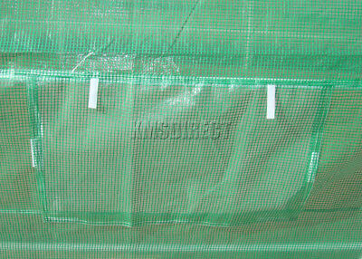 3m x 2m Invernadero Tubo polietileno Marco Galvanizado