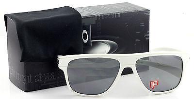 adfee6f8c2f 2 of 4 New Authentic Oakley OO9199-27 Breadbox White Polarized Sunglasses  Iridium Lens