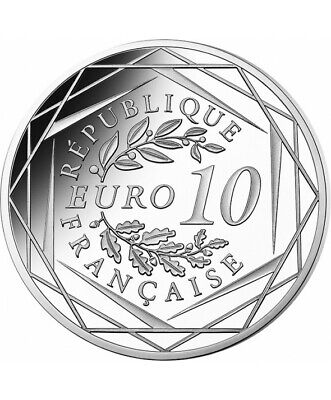 FRANCE 10 Euros Argent Général de Gaulle 2020 UNC Silver coin 2