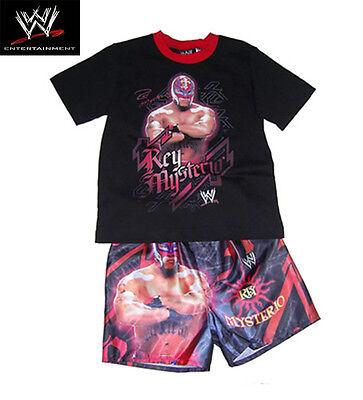 Details about  /GENUINE AUS LICENSE-WWE RAW Wrestling Rey Mysterio Boys Summer PJ/'S-Pyjamas-SALE