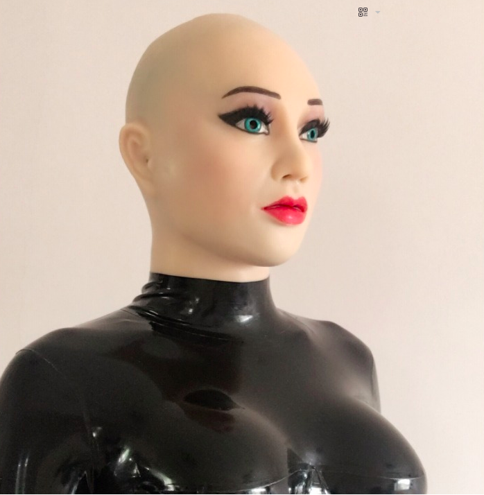 MASKINGDOLLS Sexy Female Latex Medical Silicone Rubber Mask Masken Puppen 4