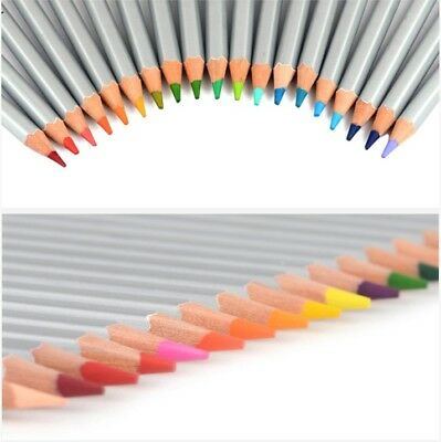 24/36/48/72Pcs Soft Core Art Colored Pencils Wooden Wax Based Drawing Supply 2B 11
