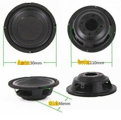 2pcs 92*100mm Bass Passive radiator consonant speaker Home Audio parts DIY