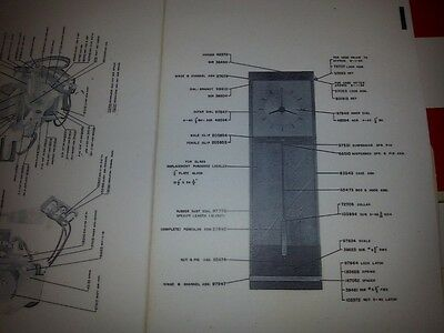 1958 IBM Time Recorder Punch Clock Parts Listing (BOM) - Digital File + Reprint 4