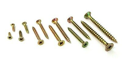Pozi Pack of 100. Chipboard wood screws Firmtite Countersunk M5 x 1/""