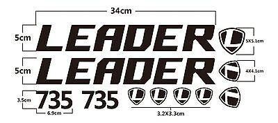 High Quality Bike Bicycle Die Cut Stickers Set Frame Decal Sticker Kit Fix Fixie