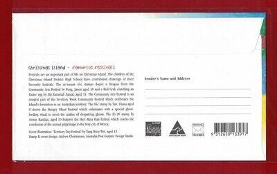 1999 Christmas Island Festivals SG 469/72 FDC or fine used set