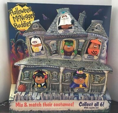 McDonald's 1993 McNUGGET BUDDIES Halloween NUGGET Buddy YOUR Toy CHOICE 3