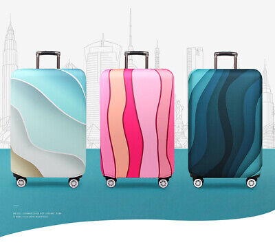 """18""""-32"""" Travel Suitcase Luggage Cover Protector Elastic Anti-scratch Dustproof 2"""